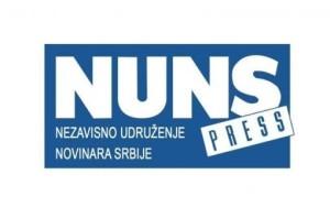 10.01.2015 NUNS - Pritisak premijera na novinare BIRN-a