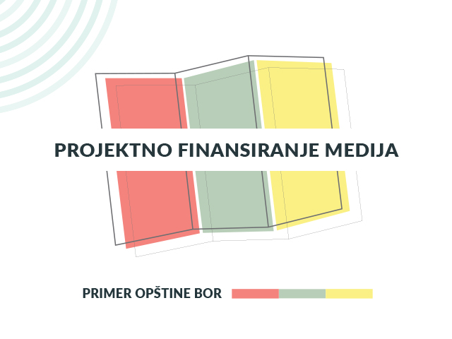 Projektno finansiranje medija, Bor