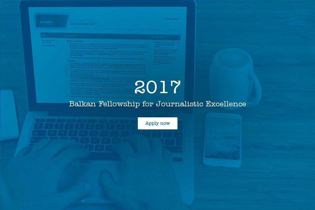 Balkanske stipendije za izvrsnost u novinarstvu